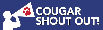 Cougar Shout Out logo