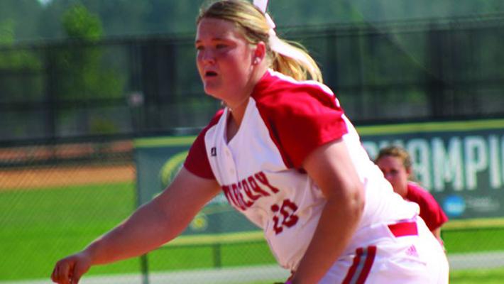 Cougar Alum Emily Marchbanks pitches shutout
