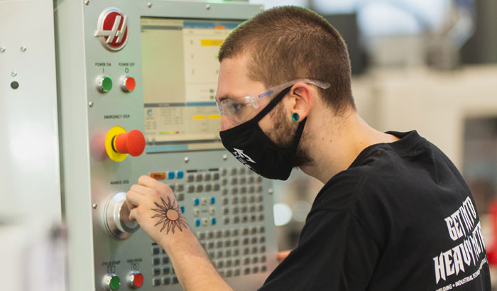 CCC Offers Free CNC Machine Operator Course