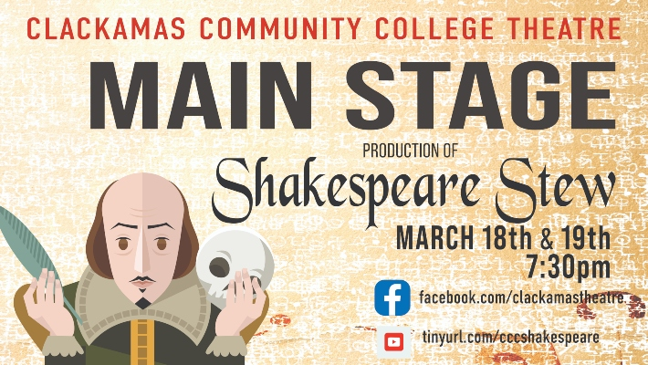 CCC Theater Students Take on Shakespeare
