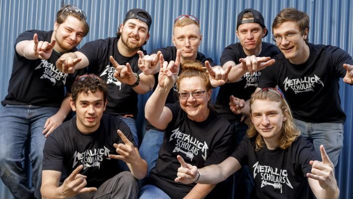 Clackamas Community College Rocks on with Third Metallica Grant
