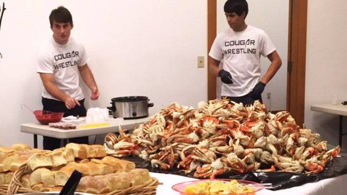 Crack Crab with CCC Wrestling