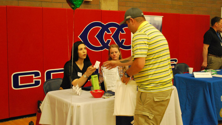 CCC Hosts Fall Job Fair