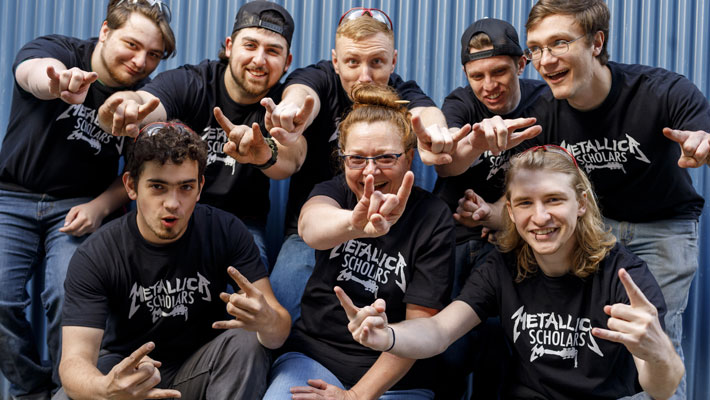 Metallica Guitarists COVID-19 Project Benefits Clackamas Community College
