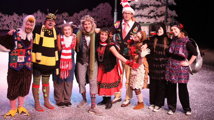 Celebrate winter with 'Wing It Holiday Magic'